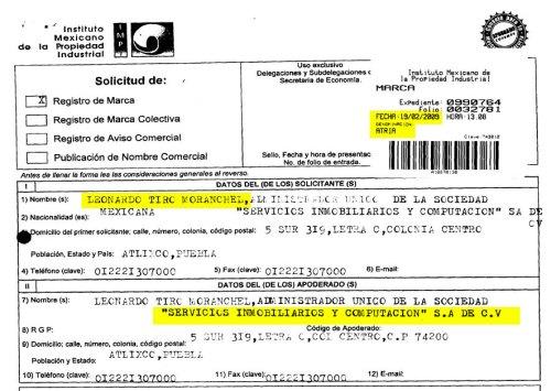 Documento del IMPI